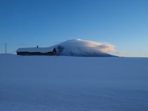 Mt. Yotei in winter